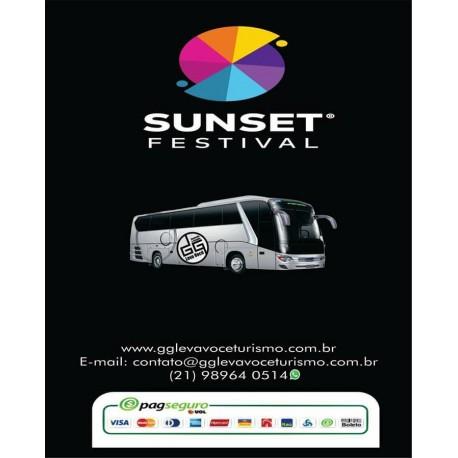 Excursão Sunset Festival + Ingresso