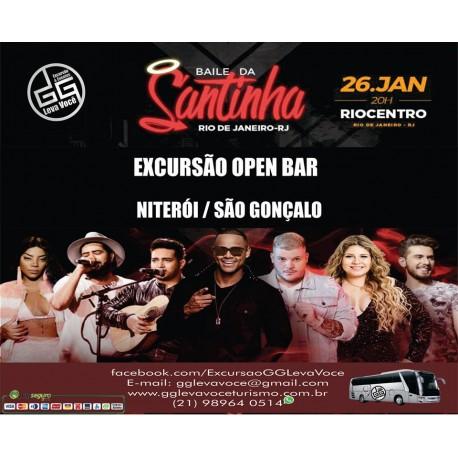Excursão Baile da Santinha-RJ