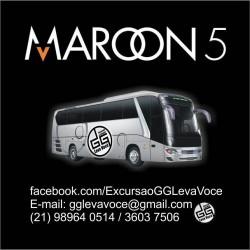 Excursão Maroon 5 R