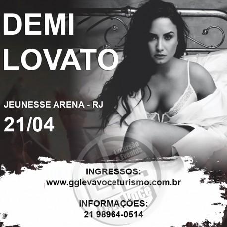 Excursão Demi Lovato - RJ