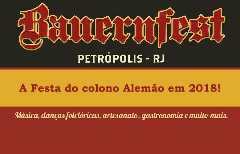 Bauernfest em Petrópolis  2018
